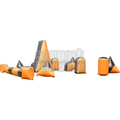 Inflatable Barrier Set