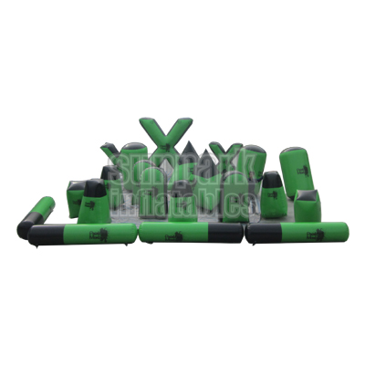 Inflatable Paintball Bunker Set